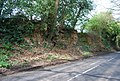 Small sandstone cliff, Horsmonden Rd - geograph.org.uk - 1274826.jpg