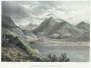 Snowdon, with Llanberris lakes