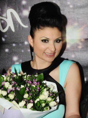 Sofi Marinova - Sofi Marinova after winning the Bulgarian Eurovision 2012 National Final