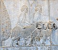 "Sogdian Tribute Bearers on the Apadana Staircase 14 (Best Viewed Size ""Large"") (4688338365).jpg"