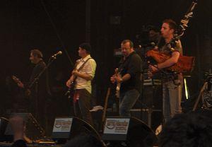 Soldat Louis - Soldat Louis at the Festival des Terre-Neuvas in Bobital, 2007.