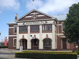 Soldiers Memorial Hall, Toowoomba