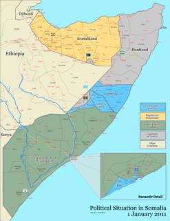 2011 timeline of the War in Somalia