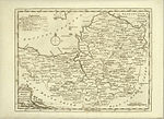 "Map of ""Somersetshire"" from 1768"