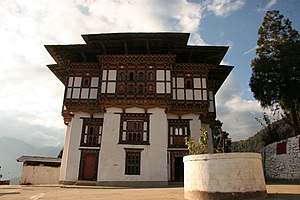 Nalanda Buddhist Institute, Bhutan - Sonam Gatshel temple