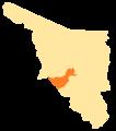 Sonora Municipios V Distrito Electoral Federal.png