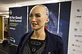 Sophia at the AI for Good Global Summit 2018 (27254369347).jpg