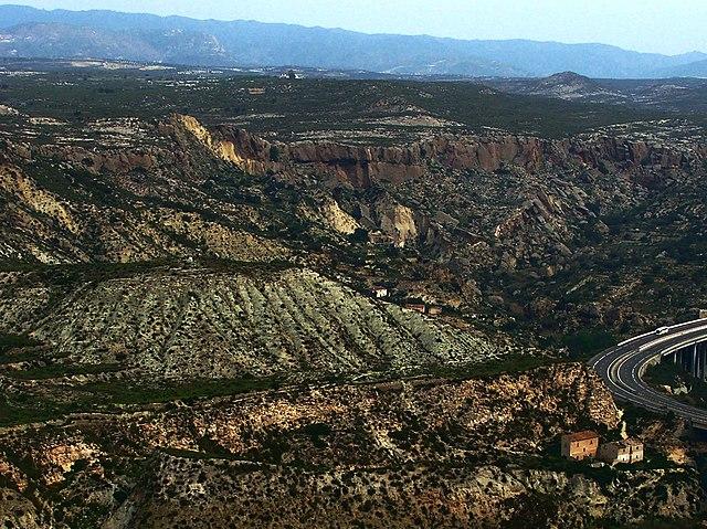 Sorbas Basin Spain