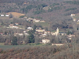 A general view of Soturac