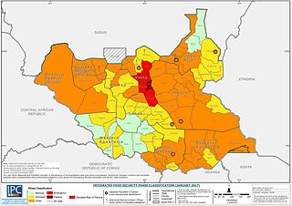 2017 South Sudan famine Famine in South Sudan caused by instability and war