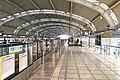 Southbound platform of L13 Dazhongsi Station (20210307172439).jpg
