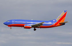 Boeing 737-300 der Southwest Airlines