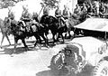 Soviet cavalry marches through Iranian settlement.jpg