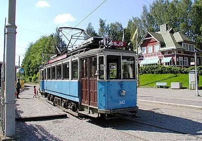 Museijärnvägen mellan Malmköping och Flen