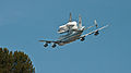 Space Shuttle Endeavour ferried by Shuttle Carrier Aircraft - Fly-by over downtown Los Angeles - 21 Sept. 2012.jpg