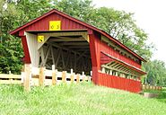 Spain Covered Bridge Union County Ohio