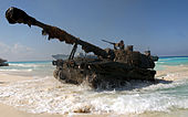 Spanish M109A5 howitzer Bright Star 2001.jpg
