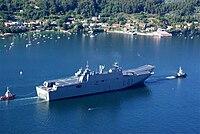 Spanish ship Juan Carlos I entering Ferrol.jpg