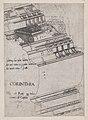 Speculum Romanae Magnificentiae- Entablature from the Temple of Vespasian, Rome MET DP870194.jpg