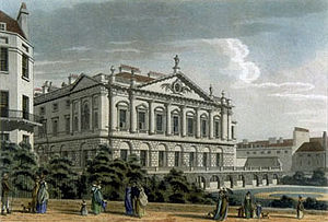 Spencer House, London - Spencer House circa 1800.
