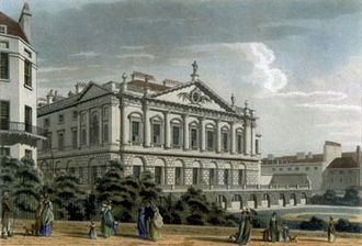 Spencer House, London - Spencer House circa 1800