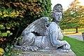Sphinx, Trent Park House, Enfield, UK 2.jpg