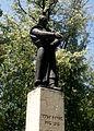 Spomenik Petru Kočiću u Gradskom parku.JPG