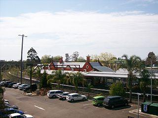 Springwood railway station