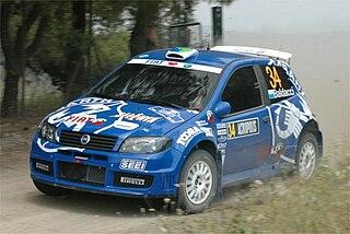 Mirco Baldacci Sammarinese rally driver