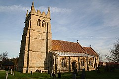 St.Mary and All Saints' church, Swarby, Lincs. - geograph.org.uk - 90677.jpg
