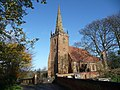 St. Cuthbert's parish church, Church End, Shustoke - geograph.org.uk - 1582726.jpg