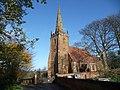 St. Cuthbert's parish church, Church End, Shustoke - geograph.org.uk - 1582726.jpg