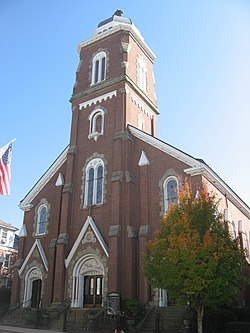 St. Francis Xavier Catholic Church in Parkersburg.jpg
