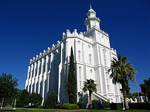Der St.-George-Utah-Tempel in St. George