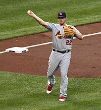 St. Louis Cardinals third baseman David Freese (23) (5883489176).jpg
