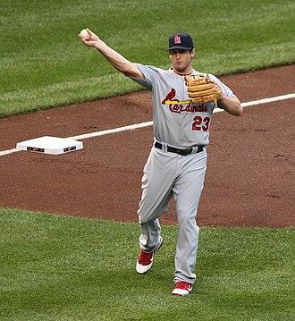 David Freese - Freese at third base