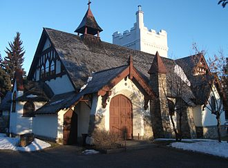 St. Mary & St. George Anglican Church - Image: St. Mary & St. George Anglican Parish in Jasper