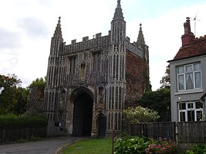 St. John's Abbey, Colchester - Gatehouse of St. John's Abbey