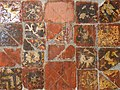 St Andrew, Much Hadham, Herts - Medieval tiles - geograph.org.uk - 362560.jpg