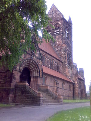 Kirkby - Image: St Chad's Church, Kirkby 2