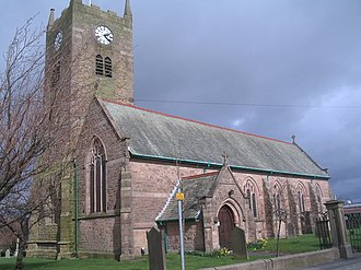 Blackrod - Image: St Katharine's Church