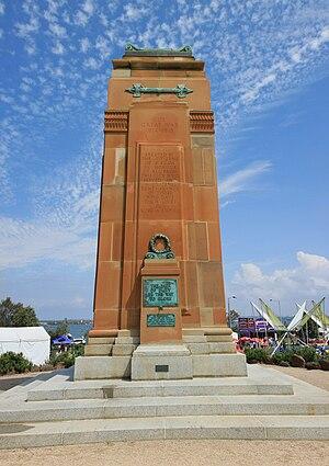 St Kilda West, Victoria - St Kilda War Memorial, Catani Gardens