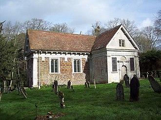 Hale, Hampshire - St Marys church