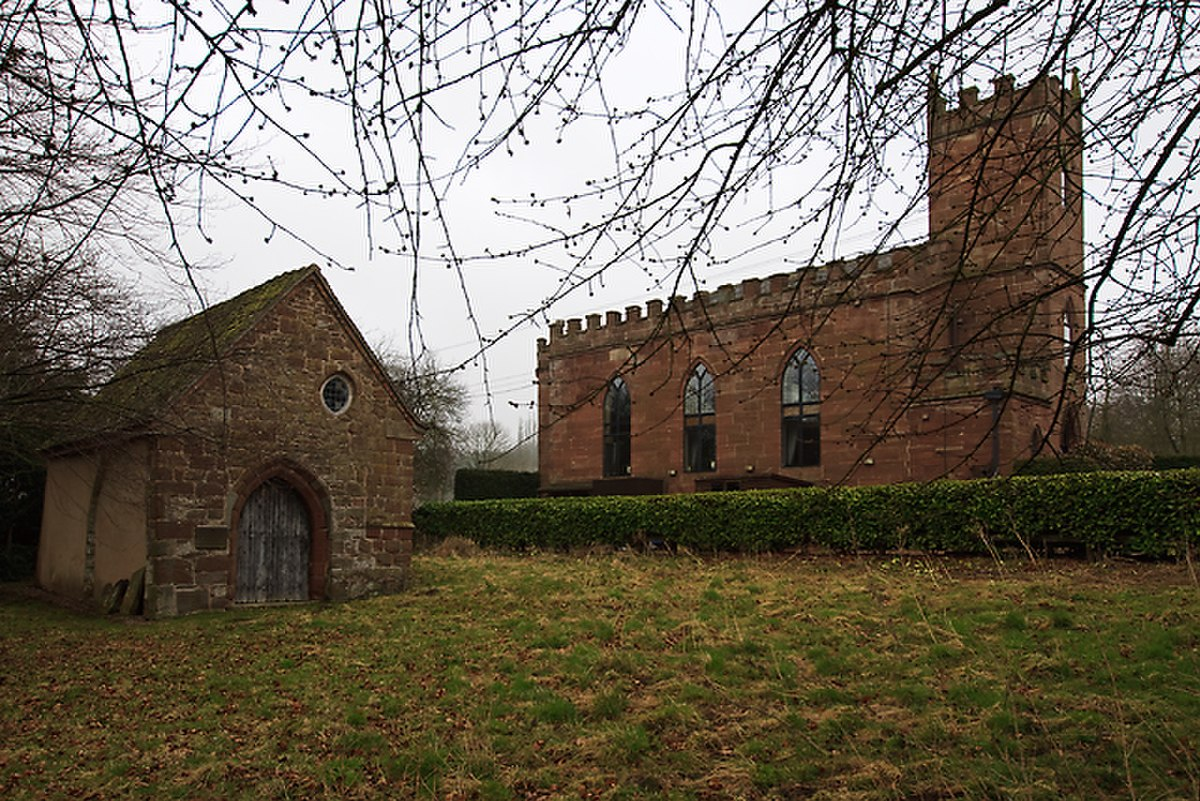 St Marys old church, Longford (The Talbot Chapel) - and the