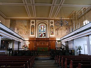 St Peter's Church, Hammersmith - St Peter's, interior