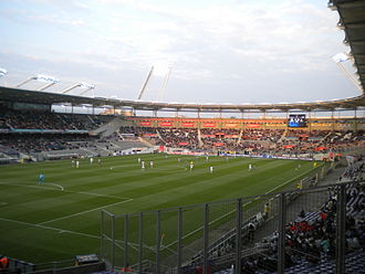 Toulouse FC - Toulouse playing Lille at the Stadium Municipal