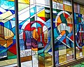 Stained Glass, Ninewells Hospital - geograph.org.uk - 497872.jpg
