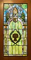 Stained glass door at the Masonic Hall (95144p).jpg