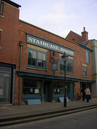 Listed buildings in Stockport - Image: Staircasehouse
