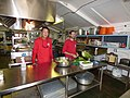 Starr-171212-0627-Lactuca sativa-kitchen crew Paul and Alex-Galley Honokanaia-Kahoolawe (39578341244).jpg